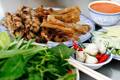Nem nuong Ninh Hoa named Top 100 typical dishes of Vietnam